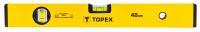 Topex 29C501 Рівень алюмінієвий, тип 500, 40 см, 2 бульбашки