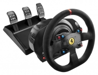 Thrustmaster Кермо і педалі для PC/PS4®/PS3® T300 Ferrari Integral RW Alcantara edition