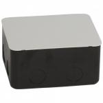 Legrand DLP люк висувною 4 модуля, монтажна коробка в бетон 4 модуля, метал