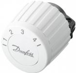Danfoss Термостатична головка FJVR, різьбове підключення RTL, регулювання +10 до +50С, біла