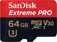 SanDisk Extreme Pro microSDXC UHS-I A2 V30 U3 Class10 [SDSQXCY-064G-GN6MA]