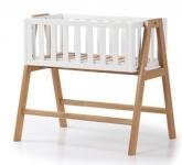 Veres Дитяче ліжко-люлька Manhattan (біло-буковий)