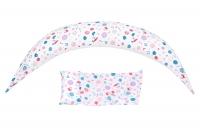 Nuvita Подушка для вагітних 10 в 1 DreamWizard (біла)