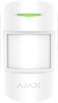 Ajax Бездротовий датчик руху MotionProtect Plus, Jeweller, 3V CR123A, білий