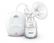 Avent Електричний молокоотсос SCF301/02 c з можливістю перемикання на ручний