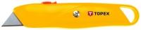 Topex 17B140 Нiж з трапецiєвидним лезом, металевий корпус