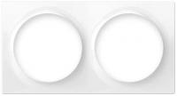 Fibaro Рамка для фурнітури Walli - на 2 пости, біла