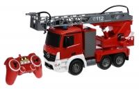 Same Toy Машинка на р/к Пожежна машина Mercedes-Benz з драбиною 1:20