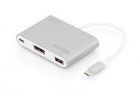 Digitus USB Type-C to DisplayPort/USB 2.0/Type-C