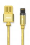 Remax Gravity series Magnetic cable Lightning Data/Charge [RC-095I-GOLD]