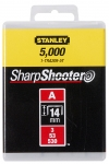 Stanley 1-TRA209T Скоби 14мм (1000шт.) (блістер)