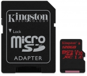 Kingston Canvas React microSD [SDCR/128GB]