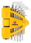 Topex 35D970 Ключi шестиграннi 1.5-10 мм, набiр 13 шт.