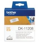 Brother DK11208 для QL-1060N/QL-570/QL-800 (Великі адресні наклейки)