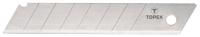 Topex 17B348 Леза, що вiдламуються, змiннi, 18 мм, набiр 10 шт.