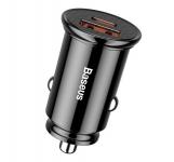 Baseus Circular Plastic USB, Type-C PD3.0, QC4.0, black