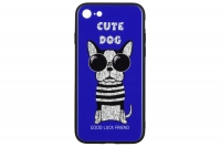 WK WPC-087 для iPhone 7/8 [Cute Dog Blue (681920360827)]