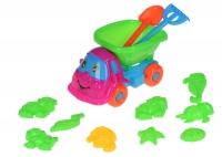 Same Toy Набір для гри з піском рожевий/зелений (11 од.)