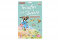 Scribble Down Набір перевідних наклейок з онлайн додатком - Динозаври