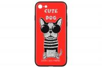 WK WPC-087 для iPhone 7/8 [Cute Dog Red (681920360773)]