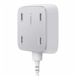Belkin RockStar Family Charger 4USB 2.4A, 3m, white