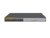 HP 1420-24G-PoE+, Unmanaged Switch, 24xGE, 124W, LT Warranty