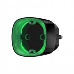 Ajax Розумна розетка з лічильником енергоспоживання Socket чорна, Jeweller, 230V, 11А, 2.5 кВт