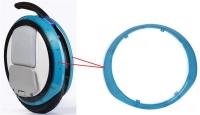 Segway Декоративна прозора накладка для моноколес Ninebot by Segway ONE E+ Blue (2шт.)