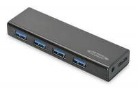 Ednet 4 порта, USB 3.0, активный с БП