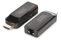 Digitus mini HDMI UTP 50m, USB powered, Black
