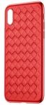 Baseus BV Weaving для iPhone X [Red (WIAPIPHX-BV09)]