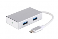2E Type-C to 4*USB3.0, Hub Aluminum, 0.20 м
