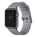 Belkin Ремешок Classic Leather Band для Apple Watch 38 мм [Сірий]
