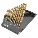 Graphite Свердла по металу HSS-TiN 1.5-6.5 мм, набір 13 шт.