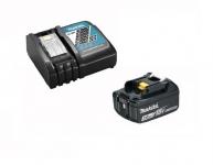 Makita Набір акумулятор Li-ion BL1830B + швидкозарядний пристрій Makita DC18RC