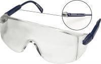 Topex 82S110 Очки защитные белые, регулируемые дужки