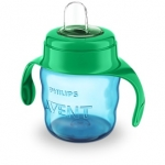 Avent Чашка-непроливайка з м'яким носиком 200 мл 6 + (блакитна)