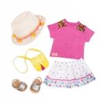 Our Generation Набір одягу для ляльок Deluxe для відпустки