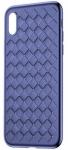 Baseus BV Weaving для iPhone X [Blue (WIAPIPHX-BV03)]