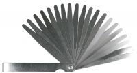 Topex Набір щупів вимірювальних 0,05 до 1 мм, 20 пластин, крок 0.05мм