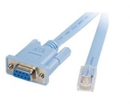 Cisco Console Cable 6ft with RJ45 and DB9F