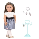 Our Generation Лялька (46 см) Аліано з прикрасами