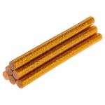 Topex 42E181 Стрижні клейові золотисті з глітером, 8 x 100 мм., 6 шт.