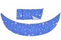Nuvita Набір аксесуарів для подушки DreamWizard (наволочка, міні-подушка) Синій