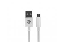 2E Кабель USB 2.0 to Micro USB Molding Type, [2E-CCMAB-WT]