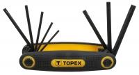 Topex 35D959 Ключi шестиграннi Torx T9-T40, набiр 8 шт.