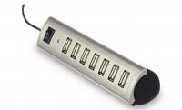 Ednet 7 портов, USB 2.0, активный с БП Silver