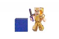 Minecraft Ігрова фігурка Alex in Gold Armor серія 4