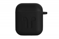 2E Pure Color Silicone Imprint (1.5mm) для Apple AirPods [2E-AIR-PODS-IBSI-1.5-BK]
