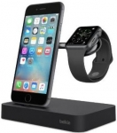 Belkin Charge Dock iWatch + iPhone BLK